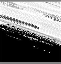 automotive tire background vector image