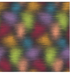 blurry fuzzy blobs color seamless pattern vector image