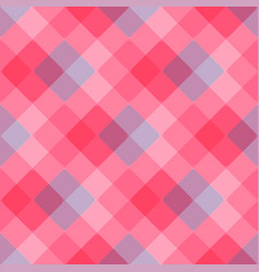 Diagonal geometric pattern pink tablecloth vector