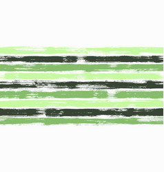 fashion watercolor brush stripes seamless pattern vector image