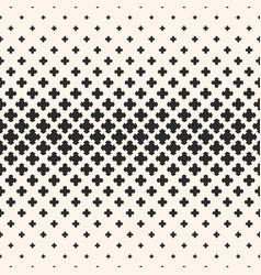 Halftone texture monochrome seamless pattern vector