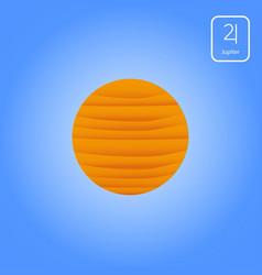 jupiter astrology planet vector image