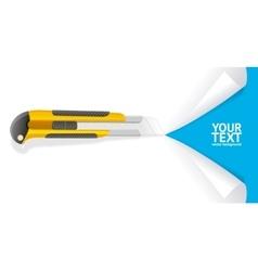 Knife Cut Paper vector