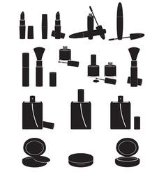 set icons cosmetics 02 vector image