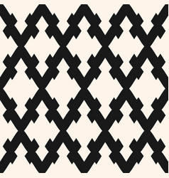 seamless pattern with rhombuses diagonal lattice vector image