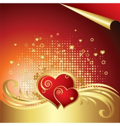 valentines day background v vector image vector image