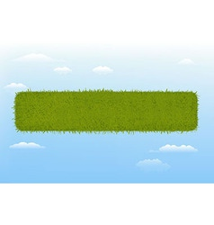 Web Grass Element vector image vector image
