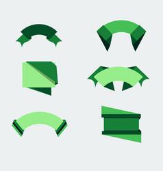 badge green food design sticker fresh natural vector image vector image