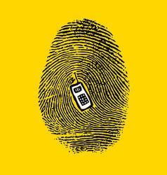 A fingerprint vector
