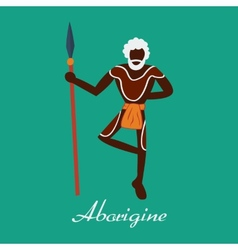aborigine vector image