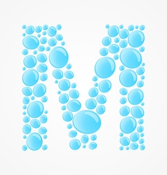 Alphabet Letter M vector