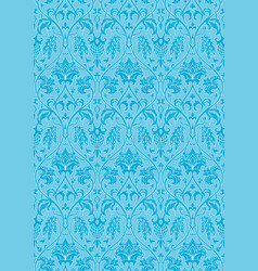 Blue pattern for wallpaper vector