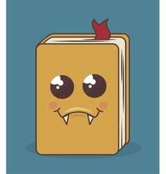 book character isolated icon design vector image