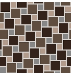brown tiles seamless pattern vector image