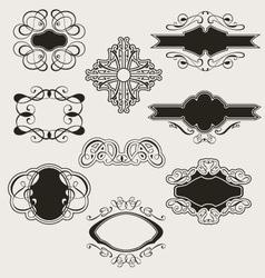 Calligraphy set vector