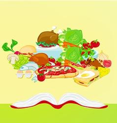 Cookbook vector