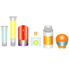 Cosmetics mans vector image vector image