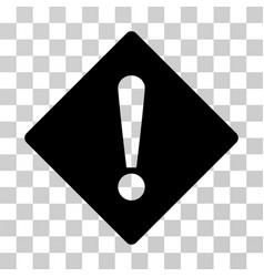 Error rhombus icon vector