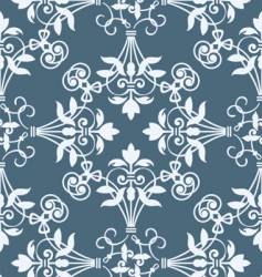 floral heraldry pattern vector image