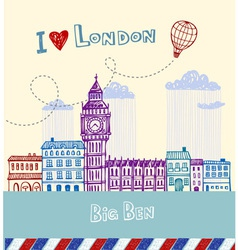 I love london vector