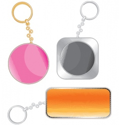 Key chain vector
