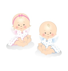 Little Angels vector image