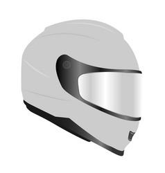 Racing helmet vector