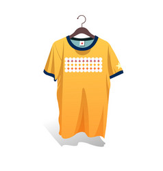 Shirts and hangers design vector
