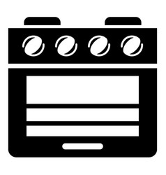stove gas oven icon simple style vector image