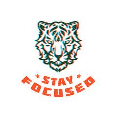 Typography graphic tee print design vector