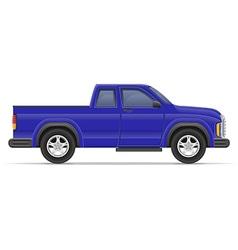 car pickup 06 vector image