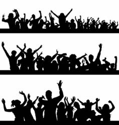 party peoples vector image vector image