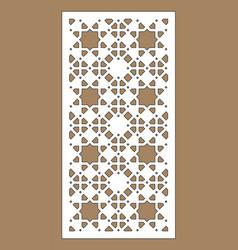 Arabesque panel vector
