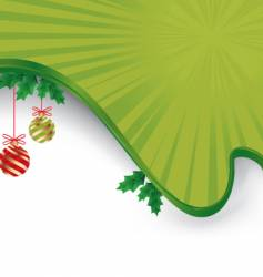 christmas layout vector image
