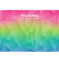 Polygonal background vector