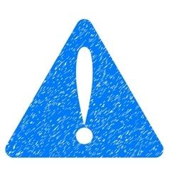 Warning Error Grainy Texture Icon vector