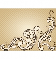 vintage Victorian background vector image vector image