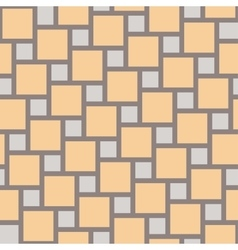 yellow tiles seamless pattern vector image vector image