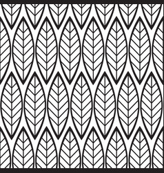 Abstract minimalistic floral seamless pattern vector