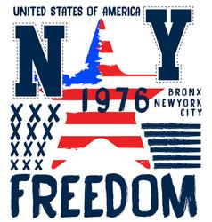 american logo athletic typography vector image