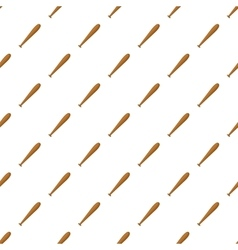 Baseball bat pattern cartoon style vector