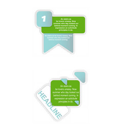 Big sale banner infographic elements vector