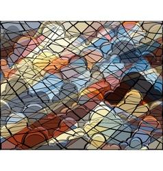 Cloud mosaic vector
