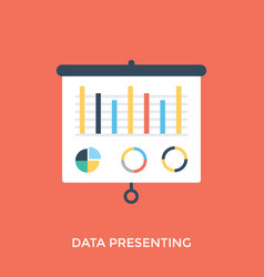 Data presenting vector