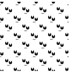 Donkey step pattern seamless vector