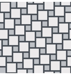 Grey tiles seamless pattern vector