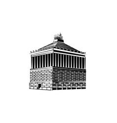 Halicarnassus mausoleum vector