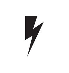 lightning icon energy icon lightning sign vector image