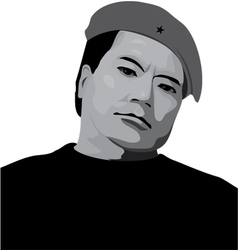 Man in a beret vector