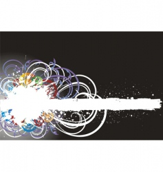Paint splashes vector